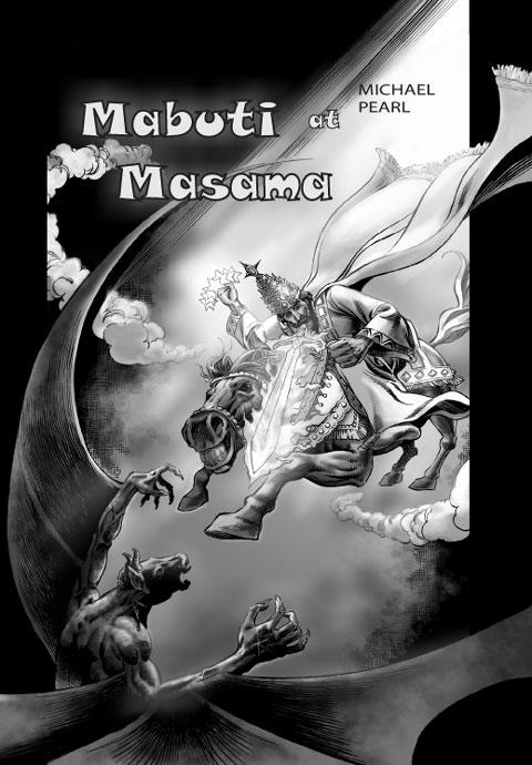 Pabalat ng librong komiks na Mabuti at Masama. Bibliyang komiks sa Ingles