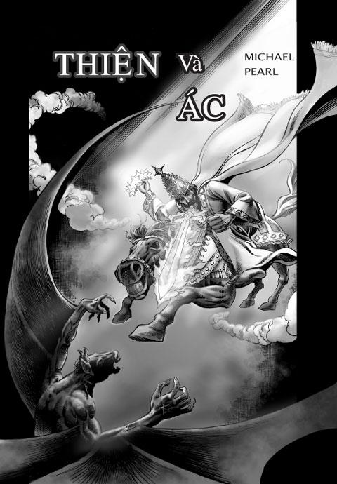 Thiện và Ác Comic Book Cover. tiếng việt truyện tranh kinh thánh. Truyện tranh Kitô giáo trong ngôn ngữ tiếng việt. Đọc câu chuyện của Thiên Chúa từ Sáng Thế Ký đến Khải Huyền